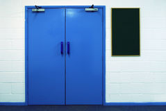 двойник дверей Стоковые Фото