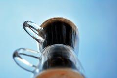 двойник кофе стоковая фотография rf