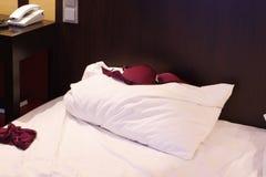 двойник кровати Стоковое Изображение RF