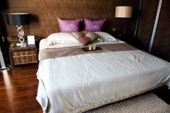 двойник спальни стоковые фото
