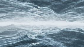 двойное море Стоковая Фотография