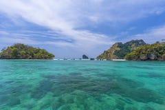 Двойное море Стоковое Фото