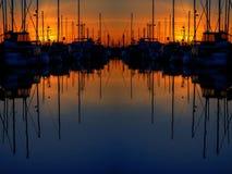 двойное отражение Стоковое Изображение