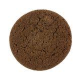 Двойное печенье шоколада на белой предпосылке Стоковые Фотографии RF