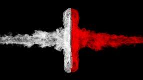 Двойное пламя Стоковая Фотография RF