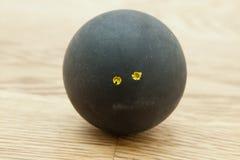 Двойной желтый шарик сквоша точки Стоковое Изображение RF