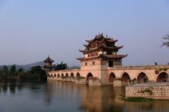 Двойной мост дракона Стоковые Изображения RF