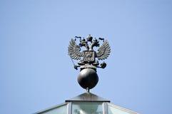 двойной орел возглавил русского Стоковые Фото