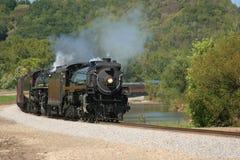 двойной поезд пара стоковые фотографии rf