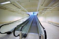 двойной путь эскалатора Стоковая Фотография