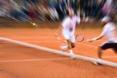 двойной теннис стоковое фото
