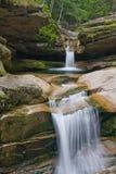 двойные водопады Стоковые Изображения RF