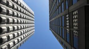 Двойные здания стоковая фотография rf