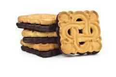 Двойные печенья стоковая фотография