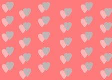 Двойные сердца Стоковое фото RF
