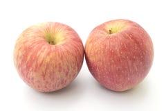 Двойные яблоки стоковые изображения rf