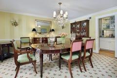 дворецкий обедая комната s кладовки Стоковые Изображения RF