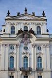 Дворец архиепископа около замка Праги Стоковые Фото