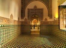 Дворец Альгамбра Гранады, Андалусии, Испании Апрель 2015 Стоковые Фото