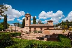 Дворец Альгамбра Стоковое Фото