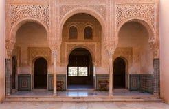 Дворец Альгамбра Стоковая Фотография