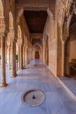 Дворец Альгамбра Стоковые Фотографии RF