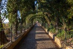 Дворец Альгамбра Стоковые Изображения