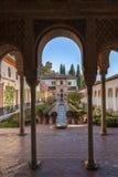 Дворец Альгамбра Стоковые Фото