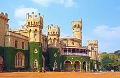 Дворец Бангалора, положение Бангалора, Karnataka, Индия стоковая фотография rf