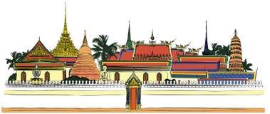 Дворец Бангкок королевский Стоковое Фото