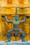 Дворец Бангкок Таиланд демона Yaksha грандиозный Стоковое Фото