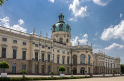 Дворец Берлин Charlottenburg Стоковое Фото