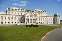 Дворец бельведера, вена Стоковое Фото
