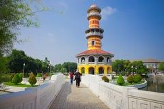 Дворец боли челки королевский Таиланда Стоковое Изображение RF