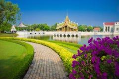 Дворец боли челки Phra Nakhon Si Ayutthaya Таиланда Стоковое фото RF