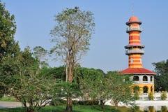 Дворец боли челки ayutthaya в Таиланде Стоковые Изображения RF