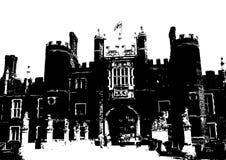 дворец Великобритания Англии hampton суда иллюстрация штока