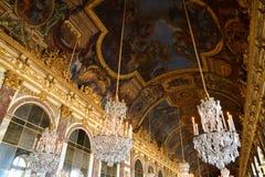Дворец Версаль в Иль-де-Франс Стоковое фото RF