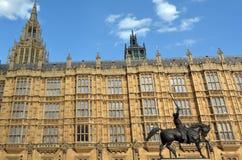 Дворец Вестминстера в Лондоне Англии Великобритании Стоковое фото RF