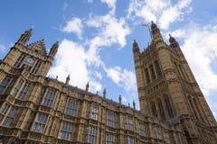 Дворец Вестминстера, Лондона, Великобритании стоковые фотографии rf