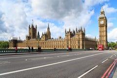 Дворец Вестминстера, Лондон Стоковые Изображения