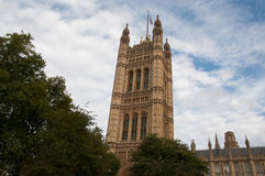 Дворец Вестминстер - город Лондон Стоковые Изображения RF