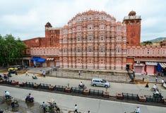 Дворец ветра в Джайпуре, Индии Стоковые Изображения RF