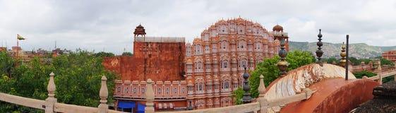 Дворец ветра Hawa Mahal в Джайпуре, Индии Стоковые Изображения RF