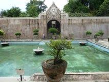 Дворец воды в Jogja стоковые изображения rf