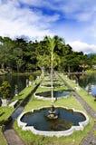 Дворец воды Tirta Gangga в восточном Бали Стоковая Фотография RF