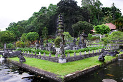 Дворец воды Tirta Gangga в восточном Бали Стоковое Фото