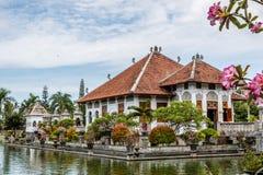 Дворец воды Ujung, остров Бали, Индонезия Стоковое Изображение