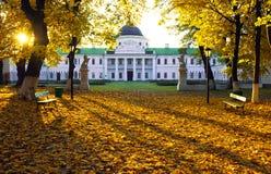 Дворец в зоне Украине Kachanovka Чернигова имущества Стоковые Изображения