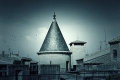 Дворец в Наварре Стоковое Изображение RF